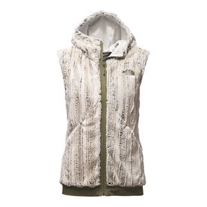 The North Face Furlander Zip Front Hoodie Vest M